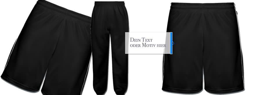 Berühmt Sporthosen bedrucken und günstig selber gestalten #LD_38